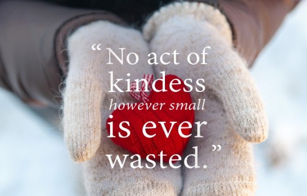 Remember what it's all about - practice loving kindness at Christmas