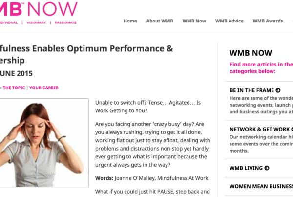 WMBNOW Mindfulness
