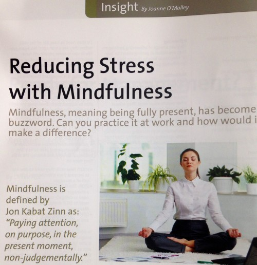 T & D Magazine : Reducing Stress with Mindfulness