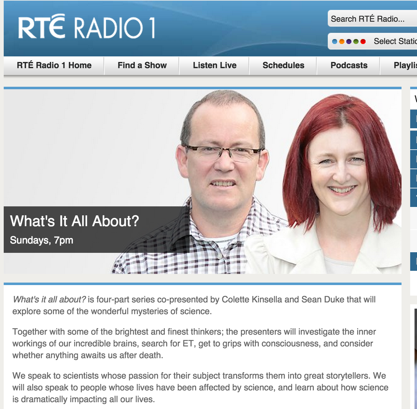 RTÉ investigates Brain Changes from Mindfulness