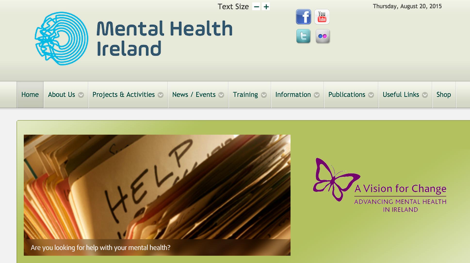 Mental Health Ireland : Mindfulness Stress Busting Tips